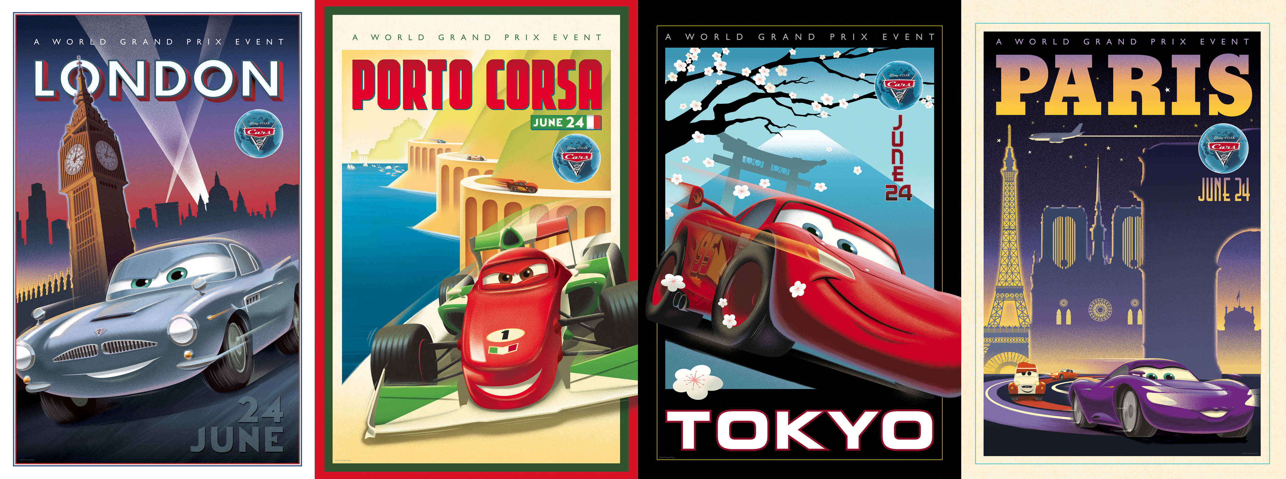 Cars silver racer poster 2 - This Should Be The Last Bit Of Cars 2