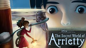 The Secret World of the Arrietty Banner