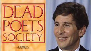 dead poets society writer There's no rule for how to properly commemorate a literary great—so some authors the real dead poets society: how america buries its in the dead of night.