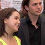 Bailee Madison, Jackson Rathbone - 2012 DIFF