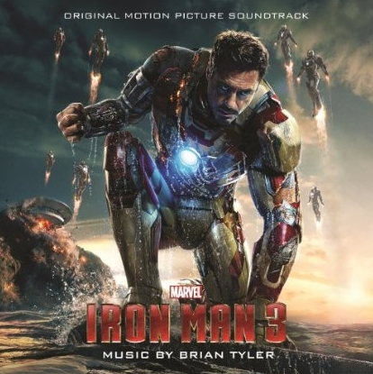 Iron Man 3 Score Cover