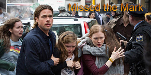Andrew - Missed the Mark - World War Z