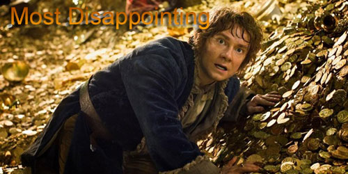 Andrew - Most Disappointing - The Hobbit Desolation of Smaug