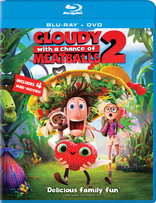 Blu-ray - Cloudy with a Change of Meatballs 2