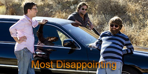 Grady - Most Disappointing - The Hangover Part III