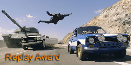 Grady - Replay Award - Fast & Furious 6