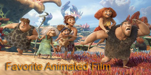 Marc - Favorite Animated Film - The Croods