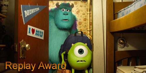 Marc - Replay Award - Monsters University