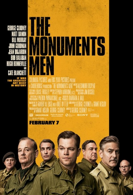 The Monuments Men Theatrical