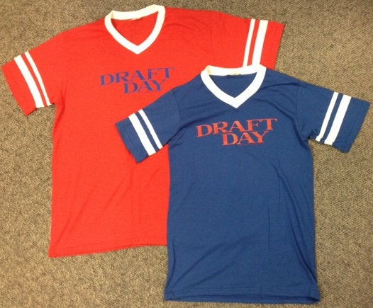 DRAFT DAY Jersey Shirt-Front