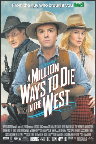 A Million Ways to Die In the West Theatrical